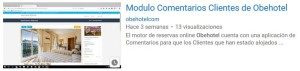 Vídeo Motor de Reservas